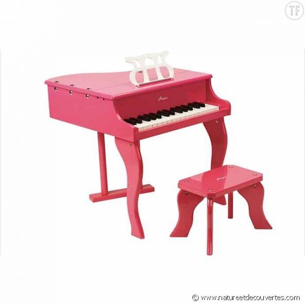 Piano à queue en bois de la marque Hape