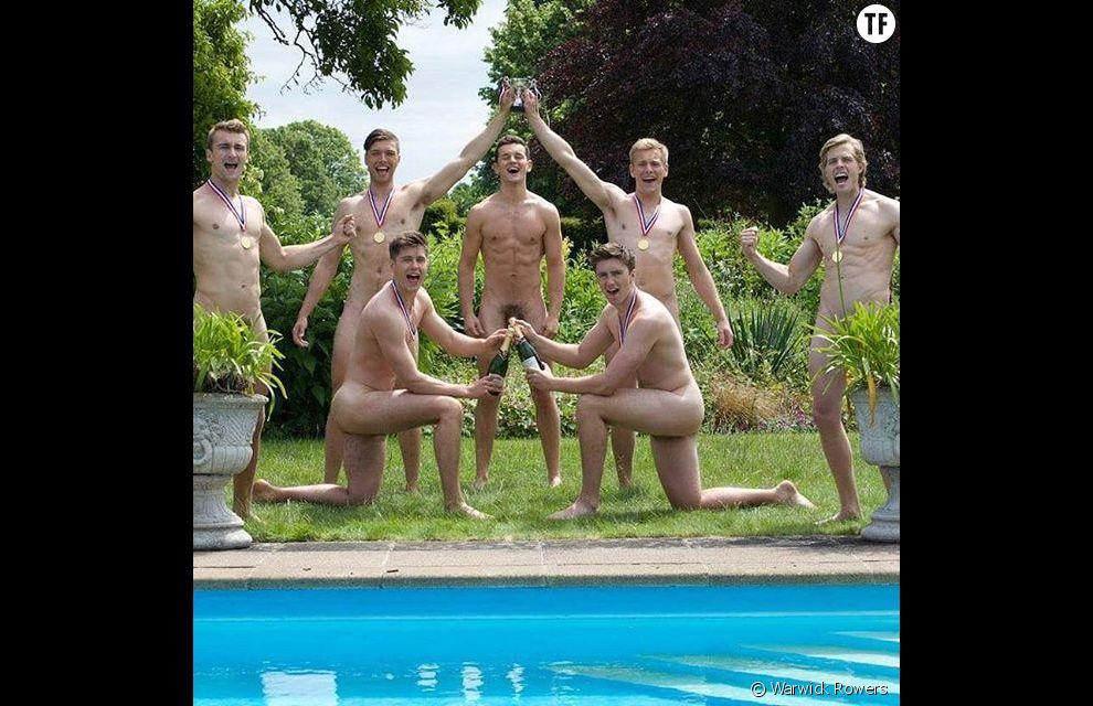Warwick Rowers : le club d'aviron de Warwick se dénude pour combattre l'homophobie