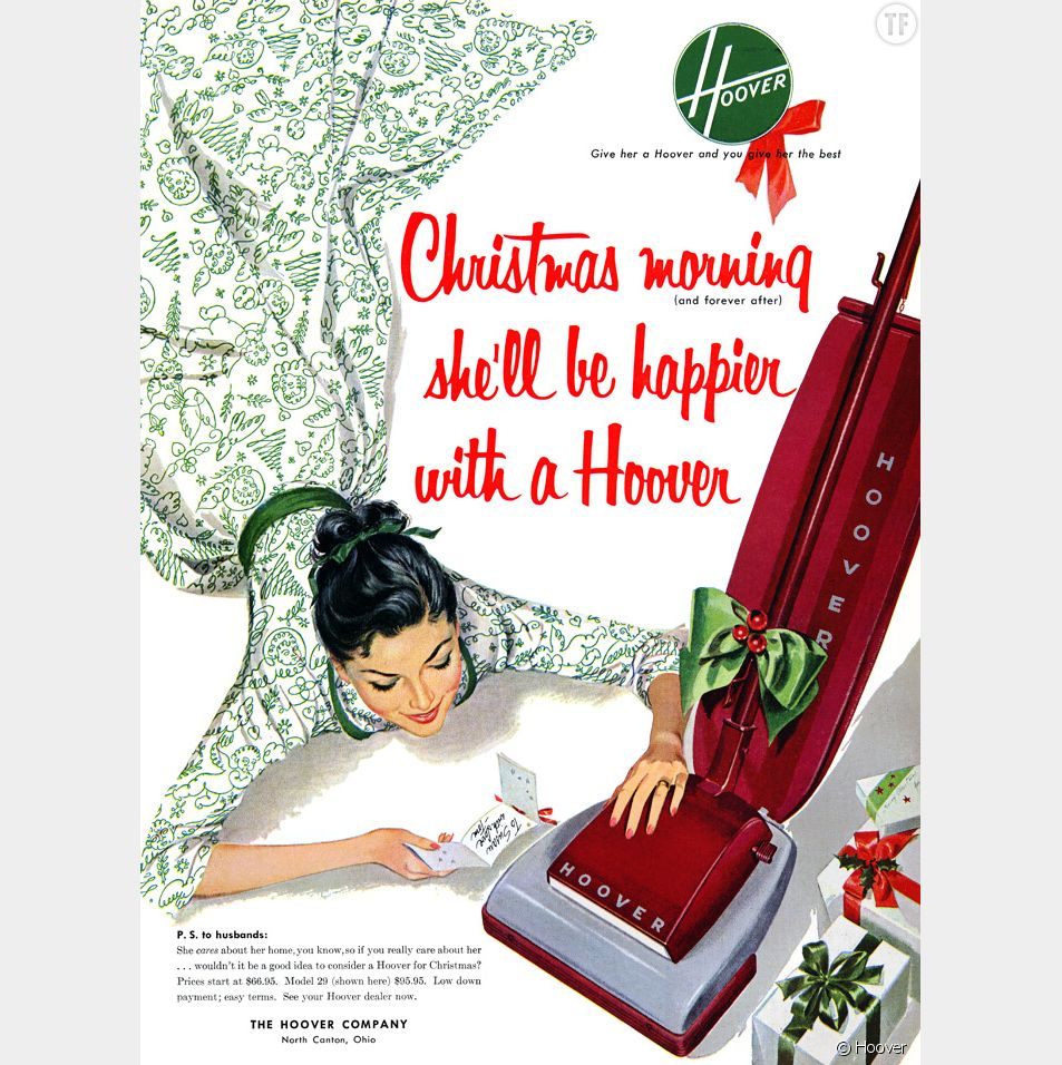 Pub sexiste pour un aspirateur Hoover