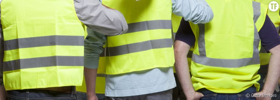 Gilets jaunes image d'illustration