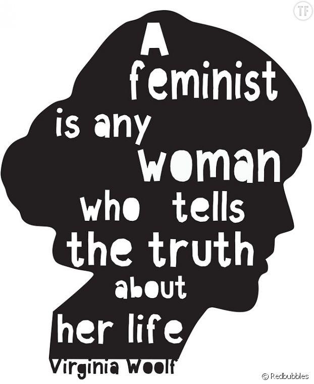 Affiche Virginia Woolf