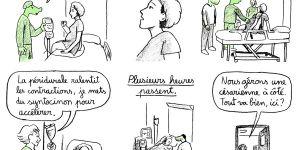 Une bande dessinée du Projet Crocodiles dénonce les violences obstétricales