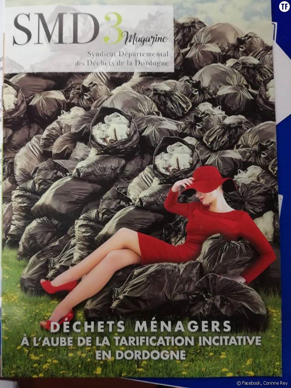 La photo sexiste de couverture de la brochure du SMD3 en Dordogne dénoncée par Femmes Solidaires