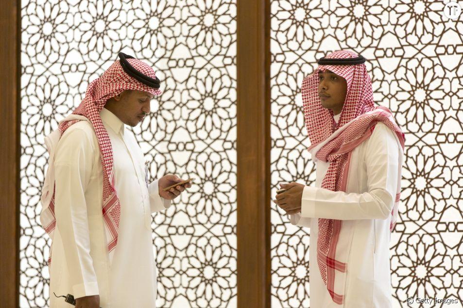 Hommes en Arabie saoudite