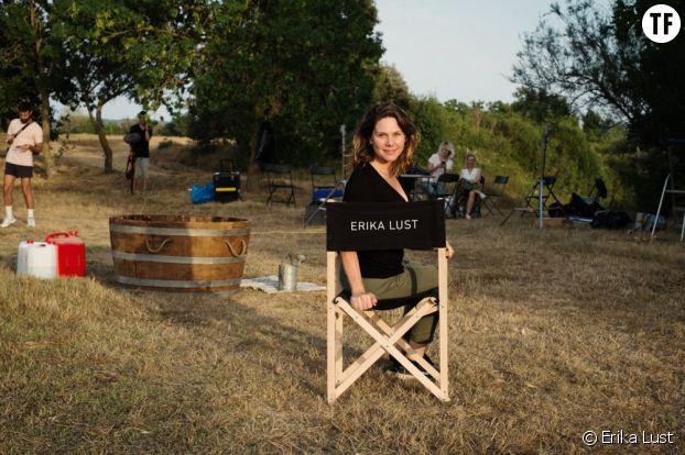 Erika Lust sur un tournage