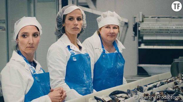 Audrey Lamy, Cécile de France et Yolande Moreau dans le film Rebelles