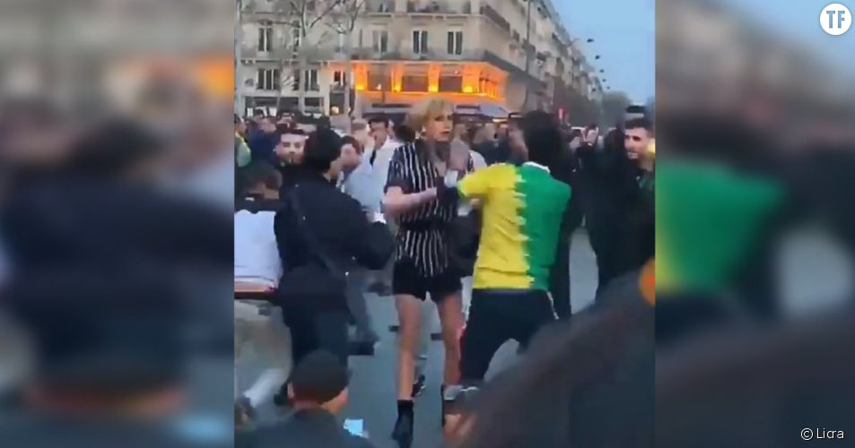 Agression transphobe de Julia à Paris
