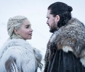Daenerys et Jon Snow dans la saison 8 de Game of Thrones