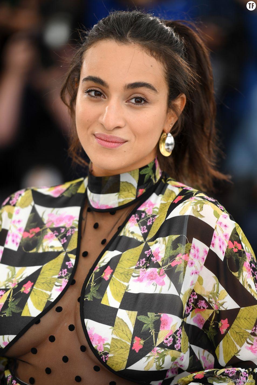 """Camelia Jordana au festival de Cannes pour le documentaire """"Haut Les Filles"""" le 21 mai 2019"""