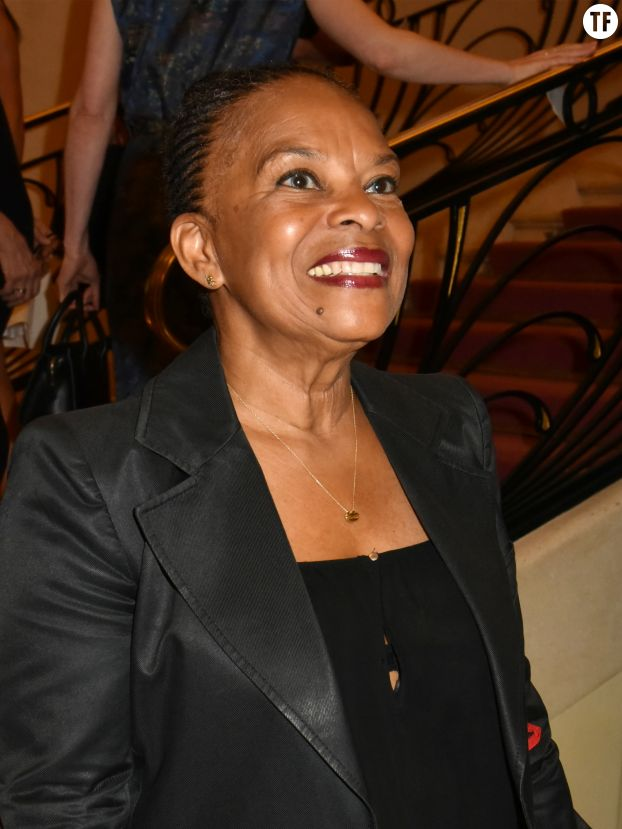 Christiane Taubira au gala Amnesty International le 21 juin 2018