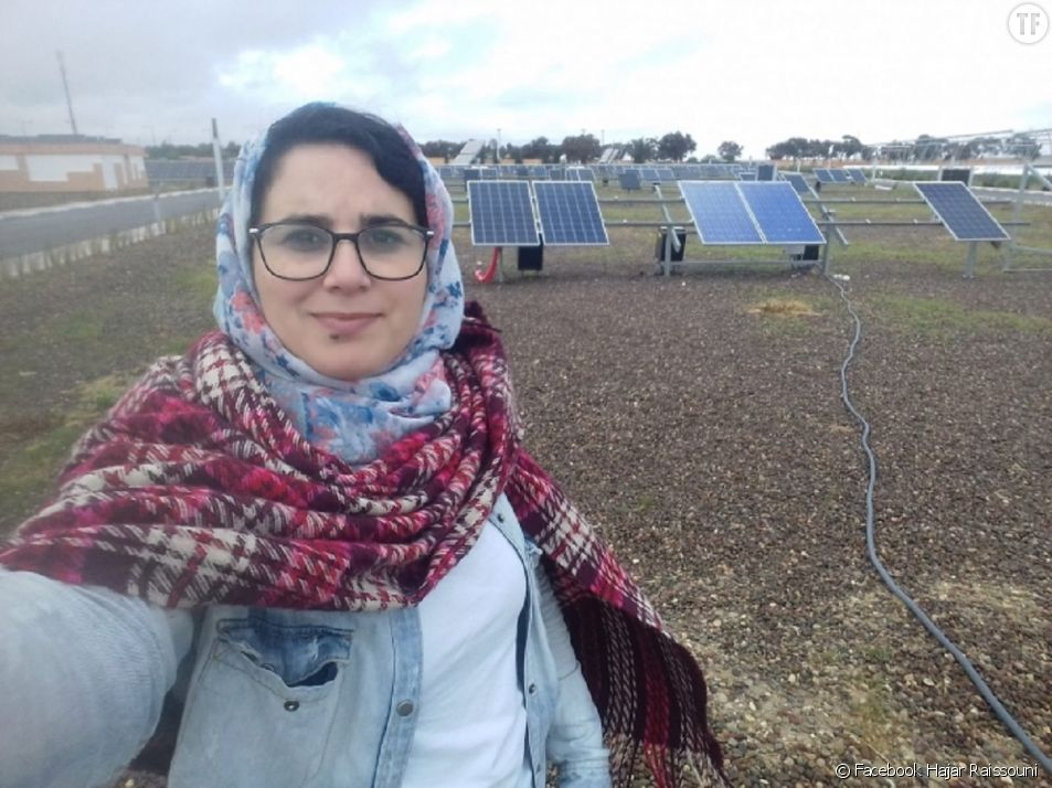 La journaliste marocaine Hajar Raissouni