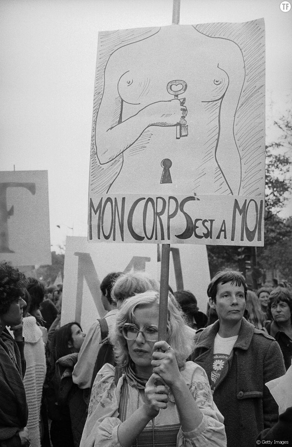 Le droit à l'avortement, une loi fondamentale.