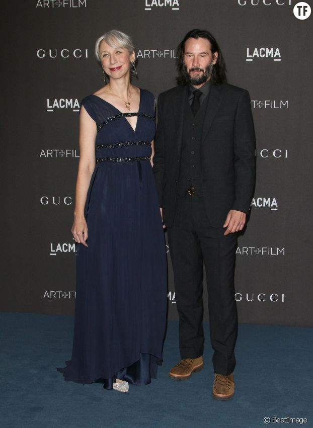 Keanu Reeves et sa compagne Alexandra Grant