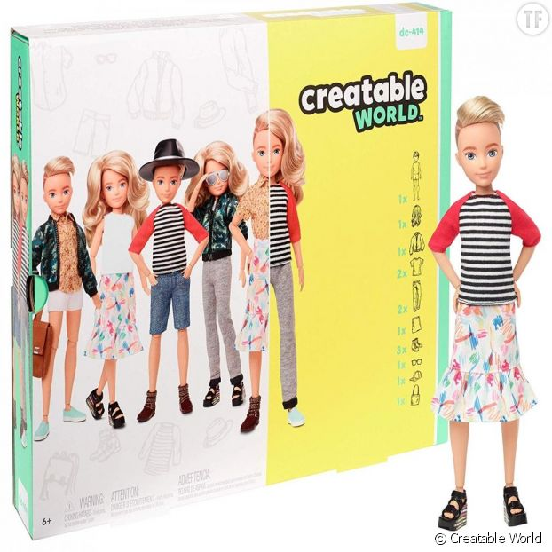 Les poupées Creatable World de Mattel
