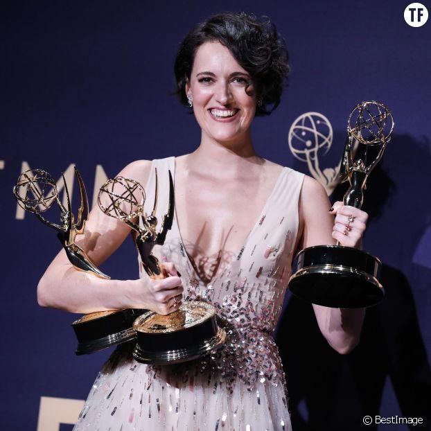 Phoebe Waller-Bridge à la cérémonie des Emmy Awards, le 22 septembre 2019 à Los Angeles.