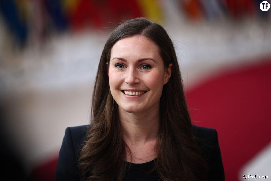 Sanna Marin, plus jeune cheffe du gouvernement au monde.