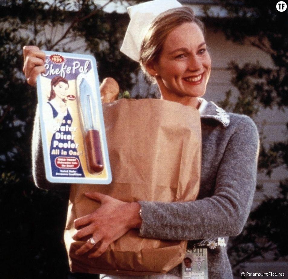 """""""The Truman Show"""" et sa femme au foyer en toc."""