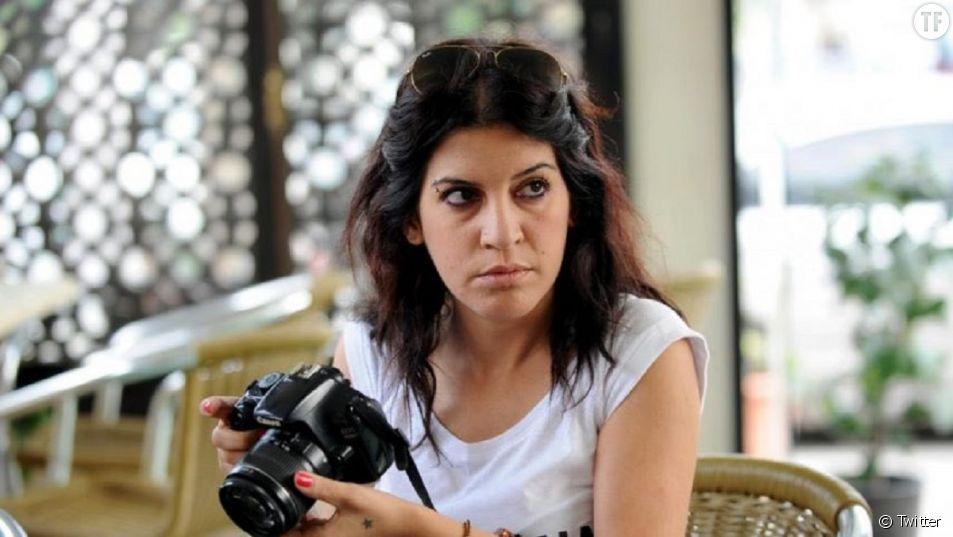 L'activiste féministe Lina Ben Mhenni à 37 ans.