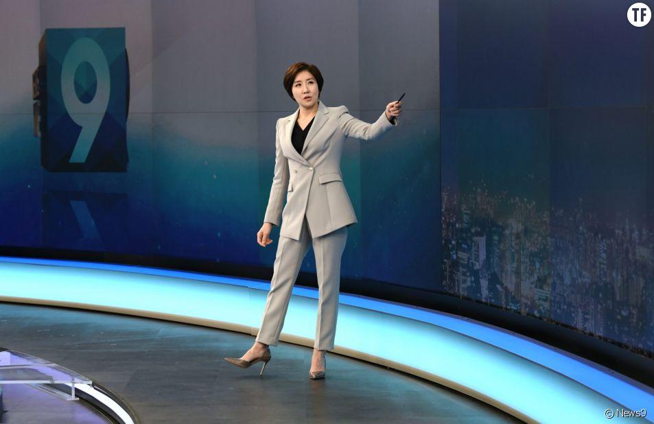 Pour la première fois, une femme présente le JT en Corée du sud (et l'audience explose)