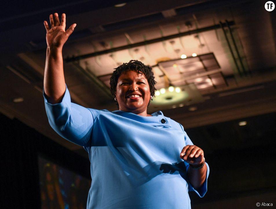 La démocrate Stacey Abrams en 2018