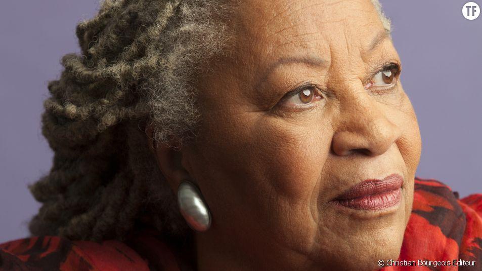 Toni Morrison, immense romancière afroaméricaine.