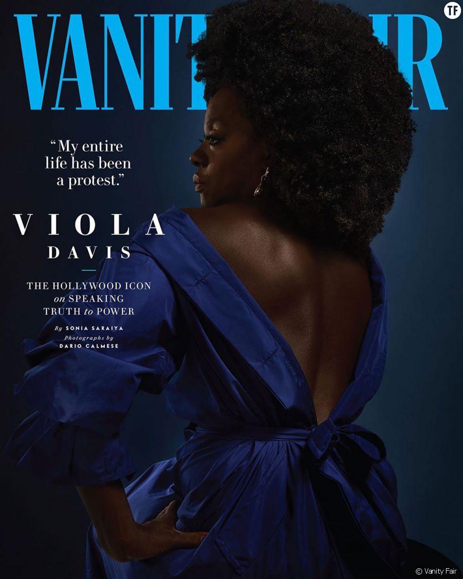 Pourquoi cette couverture de Vanity Fair avec Viola Davis est historique