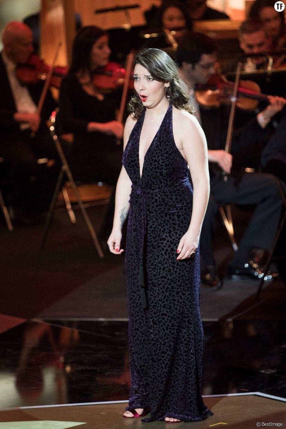 Chloé Briot à la 25ème édition des Victoires de la Musique Classique à Evian-les-Bains.