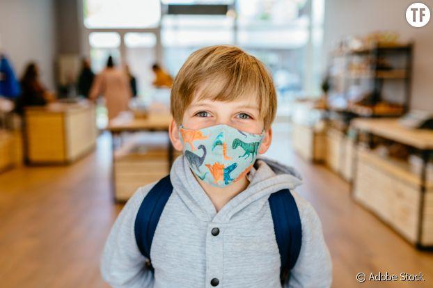 Port du masque pour les enfants