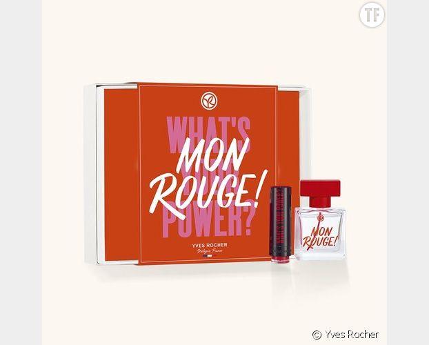Coffret Eau de parfum Mon Rouge, Yves Rocher