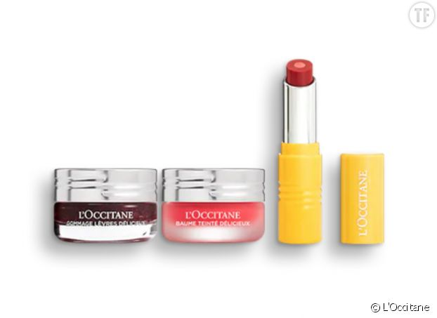 Coffret Routine Lèvres Red-Y to Play, L'Occitane