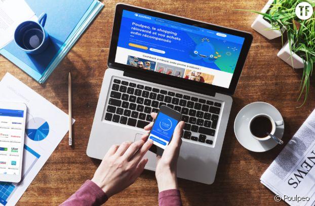 Poulpeo, la plateforme de cashback qui permet d'acheter en économisant.