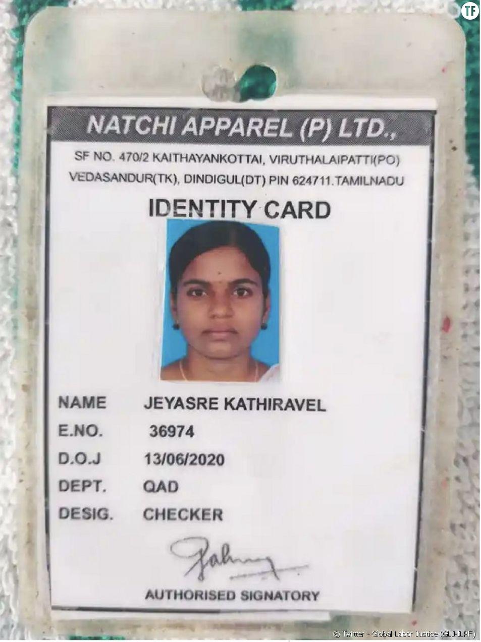 Le meurtre de la jeune ouvrière Jeyasre Kathiravel suscite le scandale en Inde.