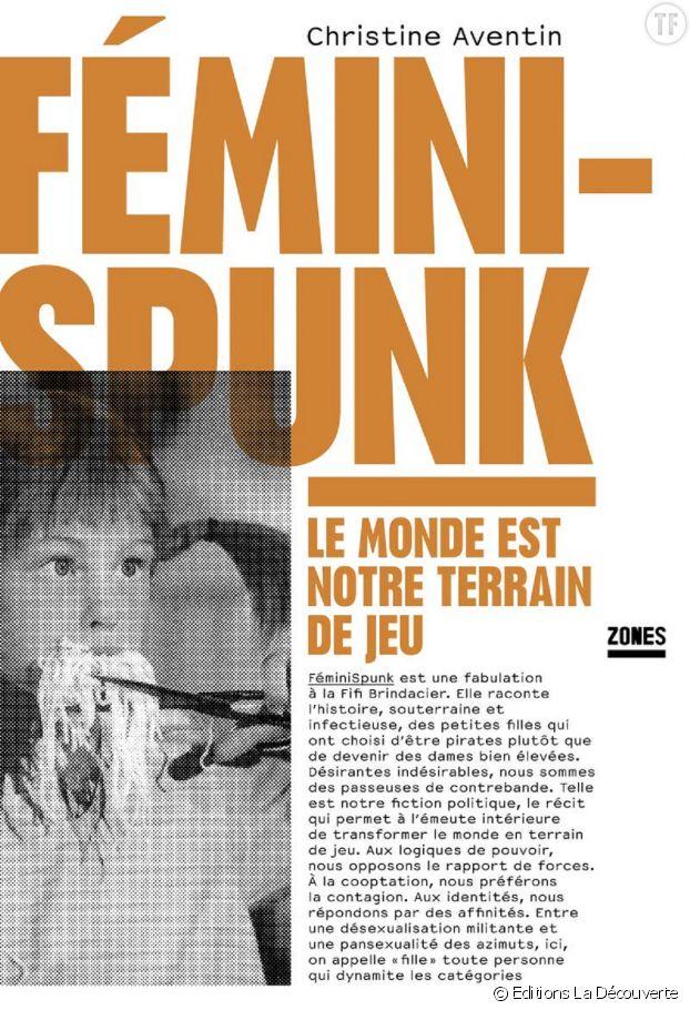 """Fémini-Spunk"", un essai explosif de l'écrivaine Christine Aventin."