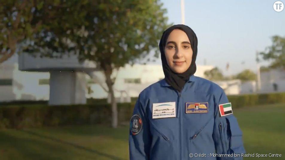 La première astronaute du monde arabe nommée pour être envoyée dans l'espace : une nouvelle historique. Crédit : Mohammed bin Rashid Space Centre