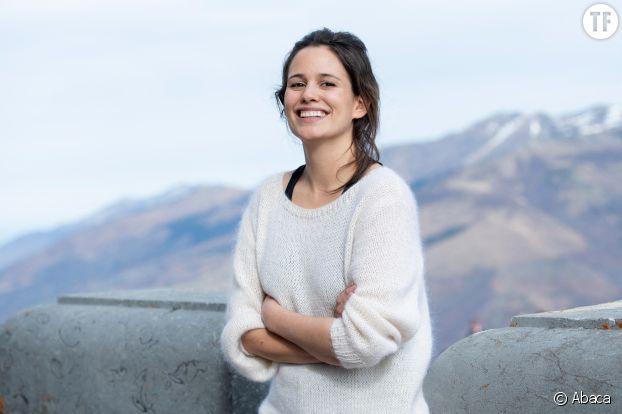 Lucie Lucas au festival de Luchon en février 2020