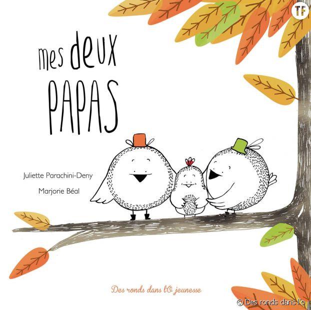 """""""Mes deux papas"""" de Juliette Parichini-Deny et Marjorie Béal"""