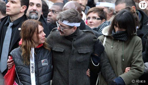 Luz à la marche Charlie Hebdo du 11 janvier 2015