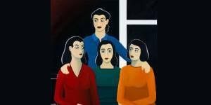 Marjane Satrapi expose ses portraits de femmes à Paris