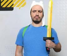 Alexandre Astier prête sa voix pour le cartoon « Adventure Time » - vidéo