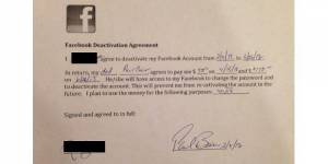 Un père paye sa fille pour qu'elle arrête d'aller sur Facebook