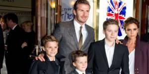 David et Victoria Beckham élus meilleurs parents de la planète people