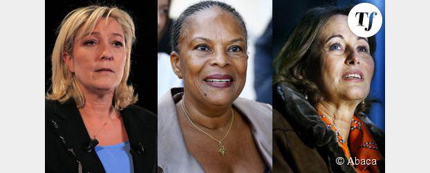 Marine Le Pen, Christiane Taubira, Ségolène Royal : elles font l'actu sur Twitter