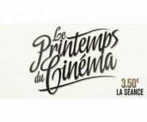 Dates et prix du Printemps du cinéma 2013