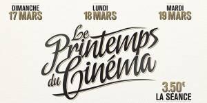 Printemps du cinéma 2013 : la séance à 3,50€ les 17,18 et 19 mars