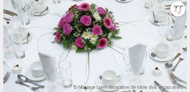 centre de table fleurs mariage pas cher. Black Bedroom Furniture Sets. Home Design Ideas