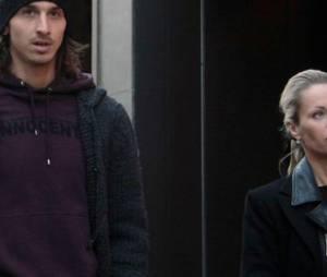 Zlatan Ibrahimovic traité de voleur par sa femme Helena Seger