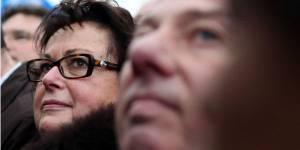Christine Boutin gazée lors de la manifestation anti-mariage gay