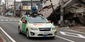 Se balader dans Fukushima grâce à Google Street View