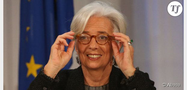 "Christine Lagarde : le Time la sacre ""sauveuse"" de l'Europe"