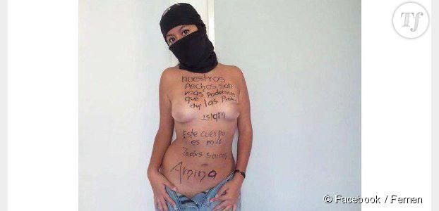 Femen : une Algérienne pose nue pour soutenir Amina